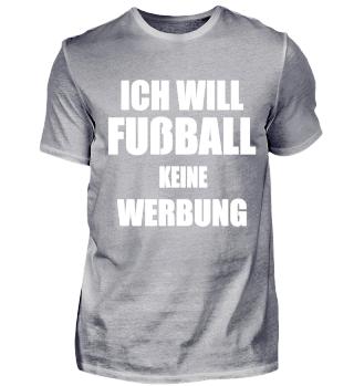 Fußball T-Shirt - Ich will Fußball