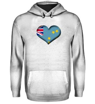 Tuvalu Herz Flagge