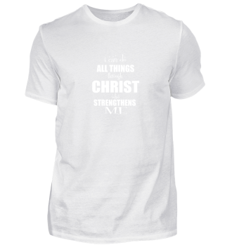 Christian Faith Tee Things Gift Shirt B