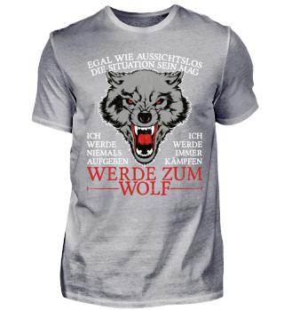 Werde zum Wolf!