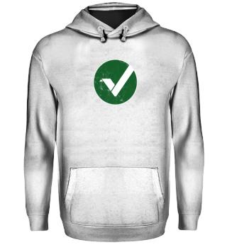 Vertcoin Hoodie (VTC) - Logo Used Look