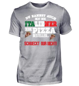 Italienischer Pizzabäcker