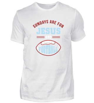 FOOTBALL USA JESUS TEAM GIFT
