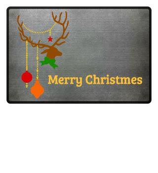 Christmas Deer with Ornaments Ia