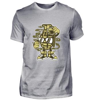 Grena Comic Hip Hop T-Shirt