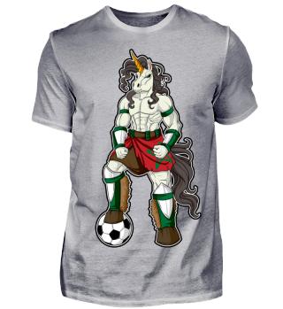 I Morocco Einhorn Fussball Marokko WM Shirt Nationalmannschaft Fanshirt Länder