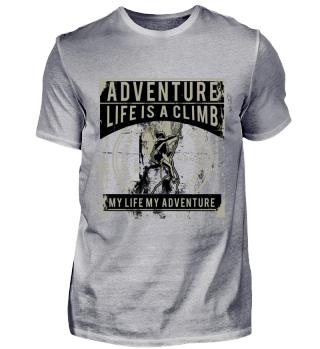 Adventure Life is a Climb