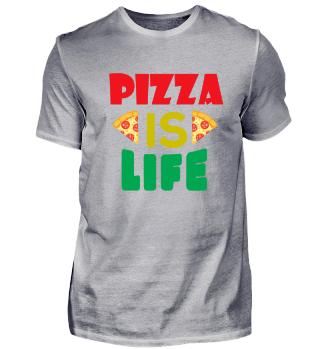 Lustiger Pizza Spruch witziges Geschenk