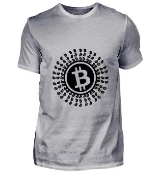 GIFT- BITCOIN CIRCLE BLACK