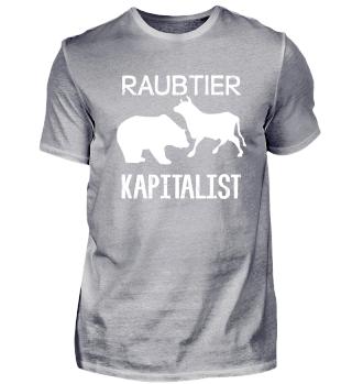 Raubtier Kapitalist Bär & Bulle