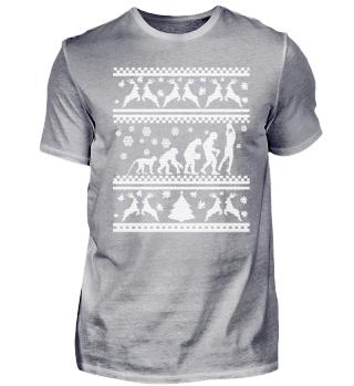 Ugly Christmas Sweater Basketball