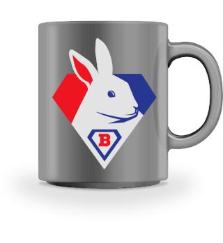 Super Easter Bunny - Funny Rabbit Mug