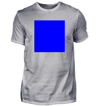 Blaues Quadrat - Form - Logo