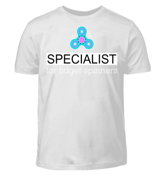 Specialist for FIDGET SPINNERS - white 2