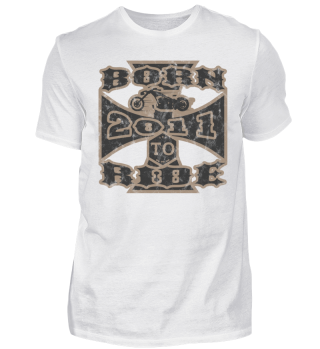 born to ride motorcycle biker 2011