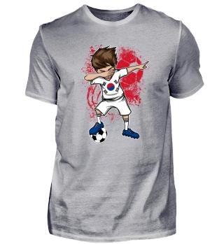 Korea Soccer Boy Football Dab