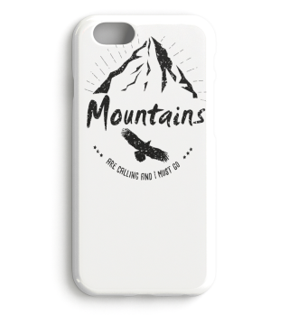 Mountains are calling hiking trekking