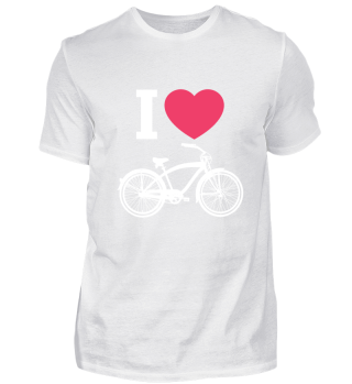 I Love Bicycle -Sport Birthday Gift
