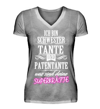 Ich bin Schwester,Tante und PATENTANTE