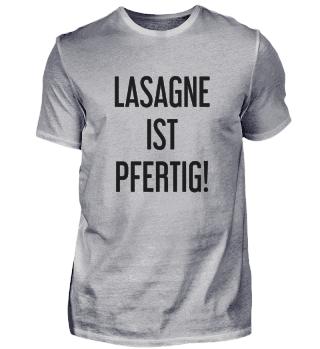 Lasagne Ist Pfertig!