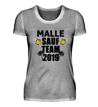 Sauf Team 2019 Shirt Urlaub
