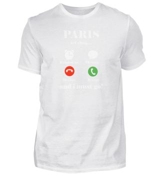 Paris Is Calling And I Must Go