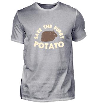 Save The Furry Potato Cute Guinea Pig