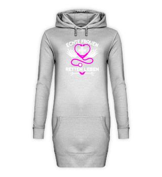 Krankenpflege Hoodie Kleid Echte Frauen