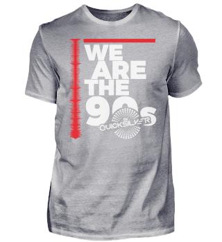 WE ARE THE90S Herren Schwarz