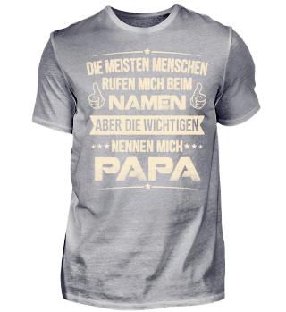 PAPA NAMEN T SHIRTS FAMILIE