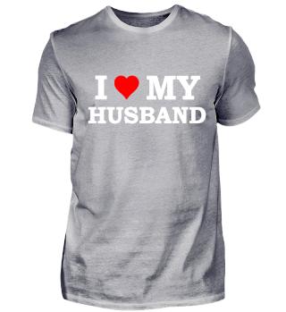 Ich liebe meinen Mann Valentinstag shirt