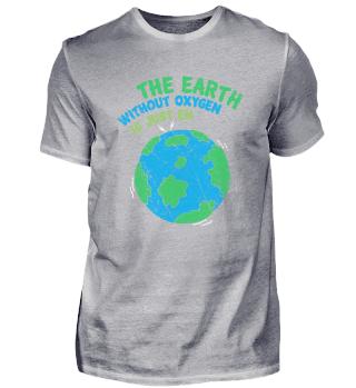Earth Oxygen Erde Sauerstoff O2 Spruch P