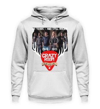 CRAZY ROOM - 20 Jahre Jubiläums Shirts, Hoodies, Taschen, Tassen etc.