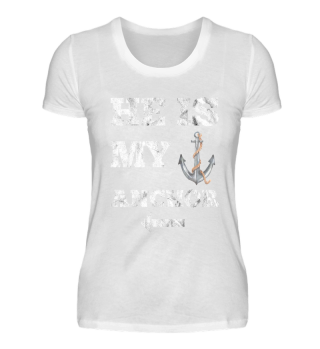 He is my Anchor couple shirt
