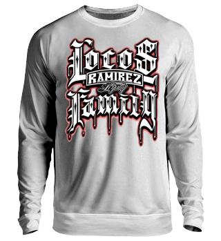 Herren Langarm Shirt Locos Family Ramirez