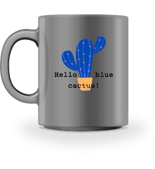 Mug Blue Cactus