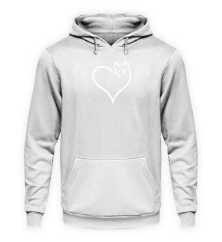 Gift Cat Lover: Cat heart