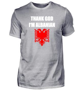 ALBANIAN PROUD Geschenkidee Motiv Design