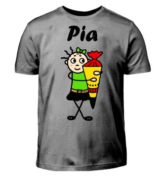 Pia - Einschulung I-Dötzchen
