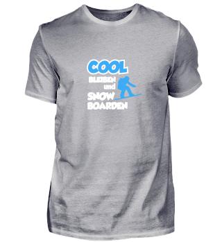 Cool bleiben und Snowboarden
