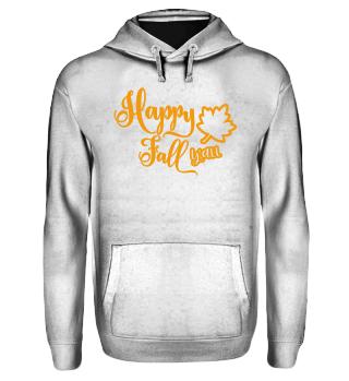 Hoodie - Happy Fall | Geschenk