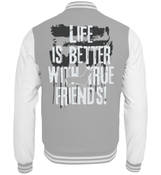 Life is better with true friends dackel2