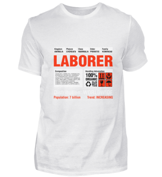 Funny Laborer T-Shirt
