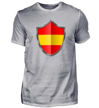Spanien-Spain Wappen Flagge 015