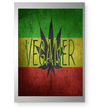 Rastafari Reggae Hanf Veganer