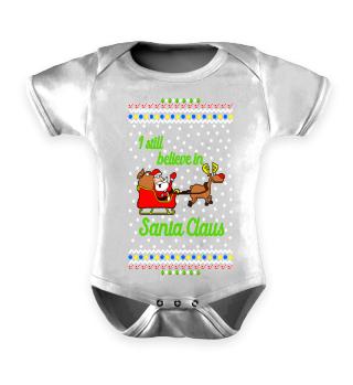 I Believe in Santa Ugly Xmas Sweater