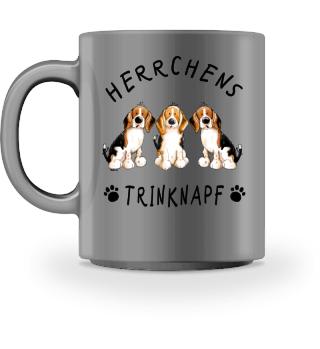 Herrchens Trinknapf Beagle Tasse