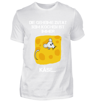 schwarzes cooles Koch-T-Shirt