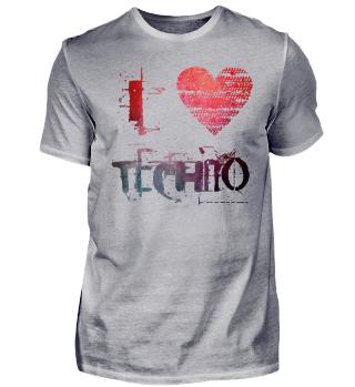 i love Techno goa rave hardstyle extasy