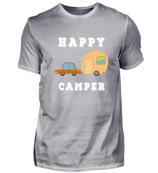 Happy Camper - Camping Shirt